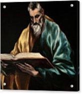 Apostle Saint Simon Acrylic Print