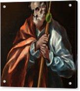 Apostle Saint Thaddeus, Jude Acrylic Print