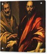 Apostles Peter And Paul 1592 Acrylic Print