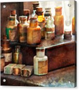 Apothecary - Chemical Ingredients  Acrylic Print by Mike Savad