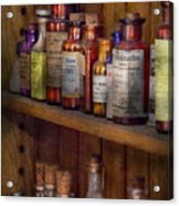 Apothecary - Inside The Medicine Cabinet  Acrylic Print