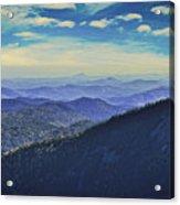 Appalachia Blue Acrylic Print