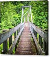 Appalachian Bridge Acrylic Print