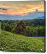 Appalachian Evening Acrylic Print