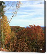 Appalachian Fall Acrylic Print