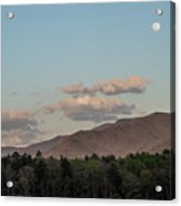 Appalachian Moonrise Acrylic Print