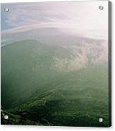 Appalachian Trail - White Mountains New Hampshire Usa Acrylic Print