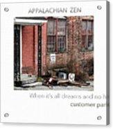 Appalachian Zen Acrylic Print