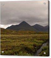 Appealing Scenic Landscacpe In Cuillen Hills Scotland  Acrylic Print