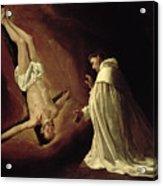 Appearance Of Saint Peter To Saint Peter Nolasco Acrylic Print
