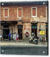 Appia Antica Break Acrylic Print