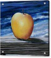 Apple By The Sea Acrylic Print