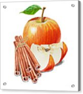Apple Cinnamon Acrylic Print