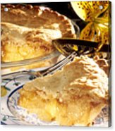 Apple Pie Dessert Acrylic Print