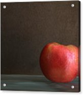 Apple Portrait Acrylic Print