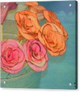 Apple Roses Acrylic Print