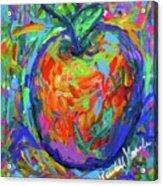 Apple Splash Acrylic Print