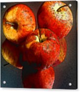 Apples And Mirrors Acrylic Print