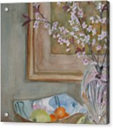 Apples And Oranges Acrylic Print by Jenny Armitage