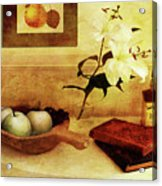 Apples And Pears In A Hallway Acrylic Print