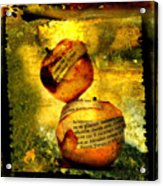 Apples Acrylic Print by Bernard Jaubert