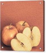 Apples In Autumn Acrylic Print