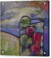 Apples On A Shoreline Acrylic Print