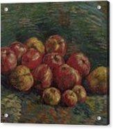 Apples Paris, September - October 1887 Vincent Van Gogh 1853 - 1890 Acrylic Print