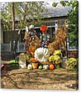 Applewood Farmhouse Grill Harvest Scene Acrylic Print