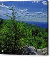 Approaching Little Gap On The Appalachian Trail In Pa Acrylic Print