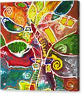April Bouquet Acrylic Print