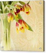 April Flowers Acrylic Print