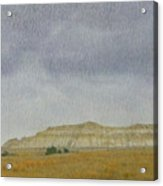 April In The Badlands Acrylic Print