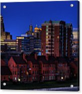 April Nighttime Acrylic Print