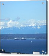 April Sail Acrylic Print