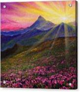 April Sunset Acrylic Print