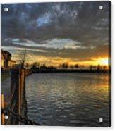 April Sunsets Acrylic Print