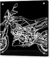 Aprilia Smv 900 Dorsoduro Acrylic Print