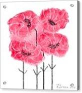 April's Flowers Acrylic Print