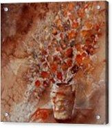 Aqua 070108 Acrylic Print