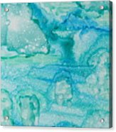 Aqua Dream Acrylic Print