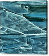 Aqua Ice Acrylic Print