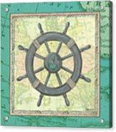 Aqua Maritime Acrylic Print