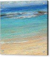 Aqua Moloa'a Acrylic Print