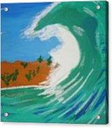 Aqua Passions Acrylic Print