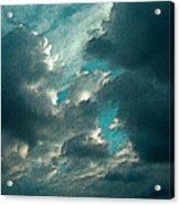 Aqua Sky Acrylic Print