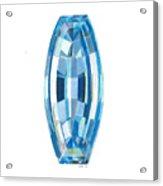 Aquamarine Facet Acrylic Print