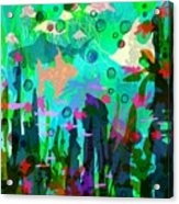 Aquaphoria Acrylic Print