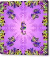 Aquarium Rising Lavender Acrylic Print