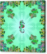 Aquarium Rising Mint Acrylic Print